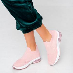 Női roe rózsaszín cipők