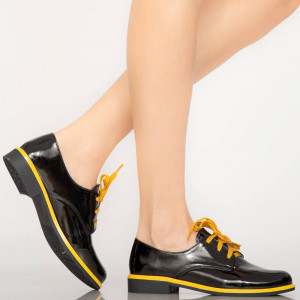 Pantofi casual Pibe galbeni