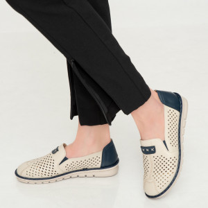 Pantofi dama Aua albastri