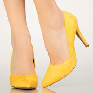 Pantofi dama Druna galbeni
