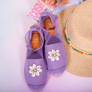 Pantofi dama Hust mov