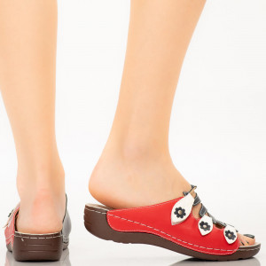 Papuci dama Luia albastri