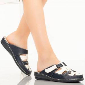 Papuci dama Rupa albastri