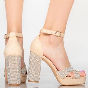Sandal lady kanapé bézs