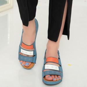 Sandale dama Aco albastre