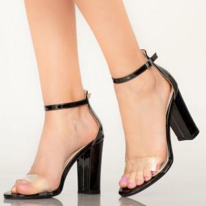 Sandale dama Bota negre