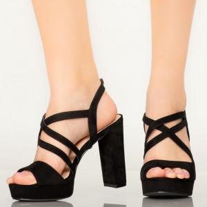 Sandale dama Digo negre