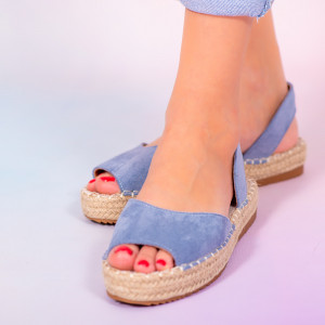 Sandale dama Heto bleu