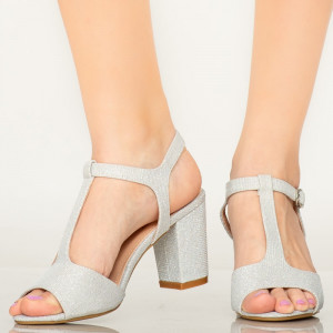 Sandale dama Icray argintii