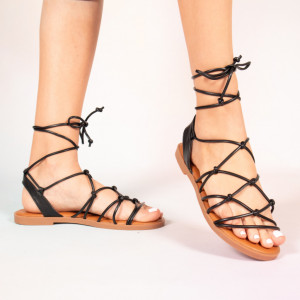 Sandale dama Jou negre