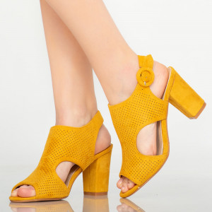 Sandale dama Tide galbene