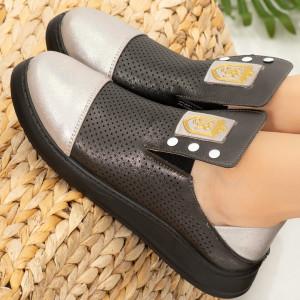 Tay fekete hölgy cipő