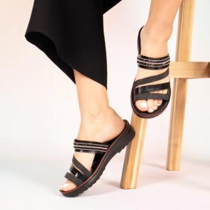 Дамски чехли Претеглят черно