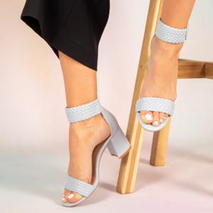 Пето сини дамски сандали