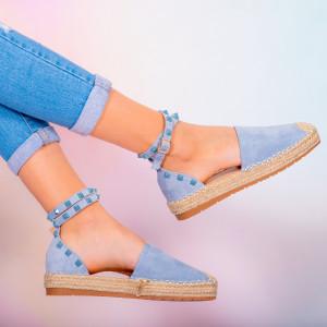Хасе сини дамски обувки