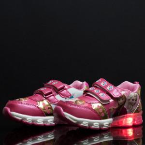 Adidasi copii Frozen roz