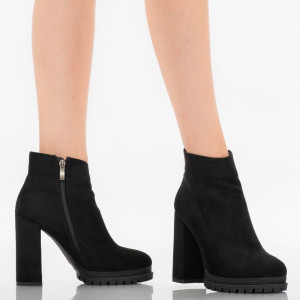 Black Alice ankle boots