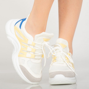 Női első Primo sárga tornacipő