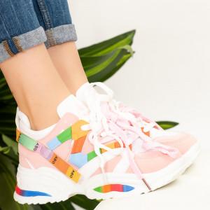 Női tornacipők Nex rózsaszín
