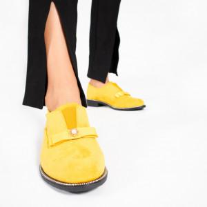 Pantofi Casual OTA Galbeni