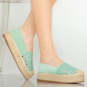 Pantofi casual Remy turcoaz
