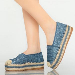 Pantofi casual Tudy albastri