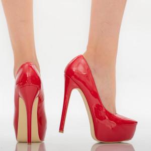 Pantofi dama Kayla rosii