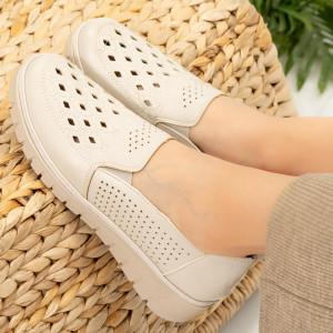 Pantofi dama Lavi bej