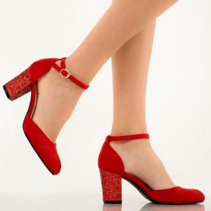 Pantofi dama Uzma rosii