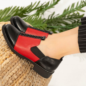 Pantofi dama Vati rosii