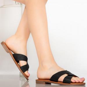 Papuci dama Saga negre