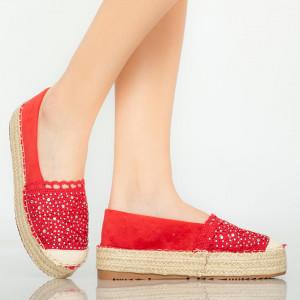 Piros Mondy alkalmi cipő