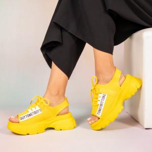 Platforme dama Jeso galbene
