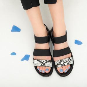 Sandale dama Abe negre