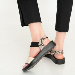 Sandale dama Afi bej