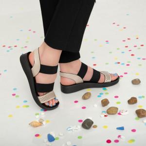 Sandale dama Aha bej