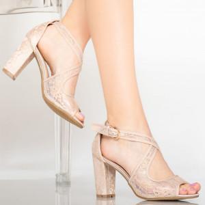 Sandale dama Aso bej