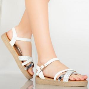 Sandale dama Berra argintii
