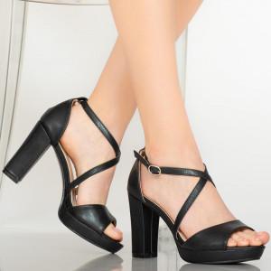 Sandale dama Briar negre