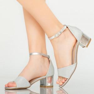 Sandale dama Comet argintii