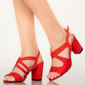 Sandale dama Fitz rosii
