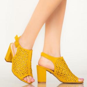 Sandale dama Hefe galbene