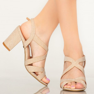 Sandale dama Manty aurii