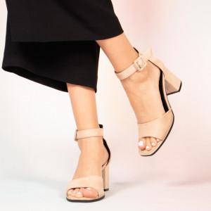 Sandale dama Pero bej