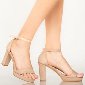 Sandale dama Roy bej