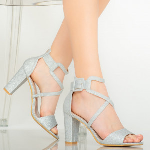 Silver Echo women's sandals