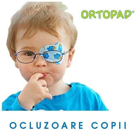 Ocluzoare pentru copii Ortopad