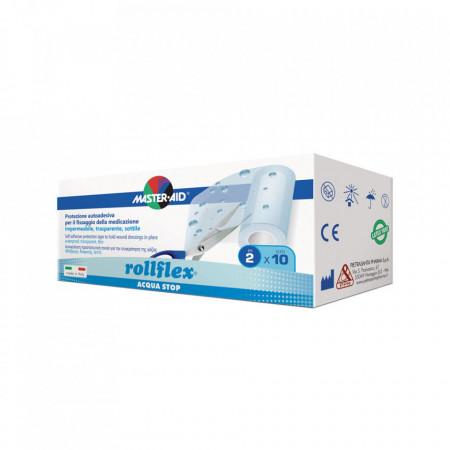 Rolă leucoplast Rollflex Acqua Stop, Master-Aid, impermeabil, 2m x 10 cm