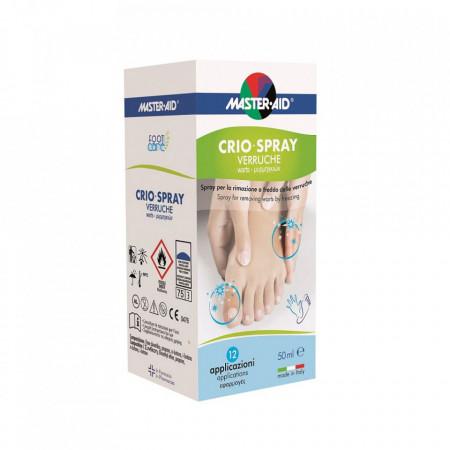 Spray pentru îndepărtarea negilor - Crio Spray Verruche Foot Care, 50 ml