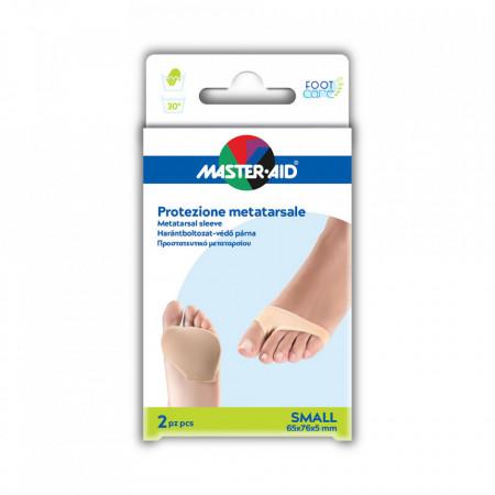 Manşon cu gel pentru protecție metatarsiana Foot care 2 buc SMALL